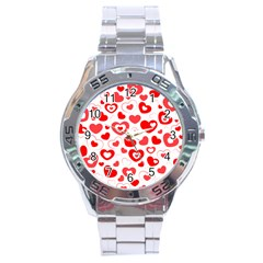 Cards Ornament Design Element Gala Stainless Steel Analogue Watch