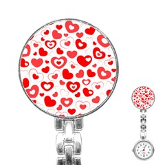 Cards Ornament Design Element Gala Stainless Steel Nurses Watch