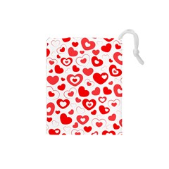 Cards Ornament Design Element Gala Drawstring Pouches (Small)