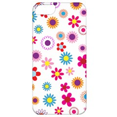Floral Flowers Background Pattern Apple Iphone 5 Classic Hardshell Case