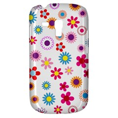 Floral Flowers Background Pattern Galaxy S3 Mini