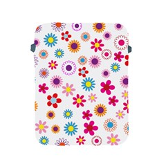 Floral Flowers Background Pattern Apple Ipad 2/3/4 Protective Soft Cases