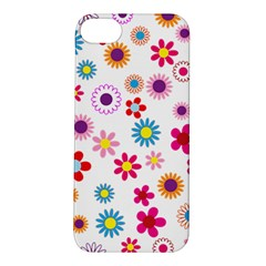 Floral Flowers Background Pattern Apple Iphone 5s/ Se Hardshell Case