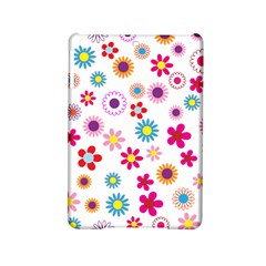 Floral Flowers Background Pattern iPad Mini 2 Hardshell Cases