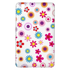 Floral Flowers Background Pattern Samsung Galaxy Tab Pro 8.4 Hardshell Case