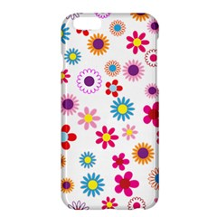 Floral Flowers Background Pattern Apple iPhone 6 Plus/6S Plus Hardshell Case