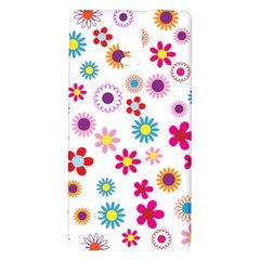 Floral Flowers Background Pattern Galaxy Note 4 Back Case