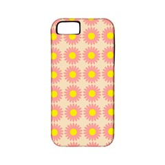 Pattern Flower Background Wallpaper Apple Iphone 5 Classic Hardshell Case (pc+silicone)