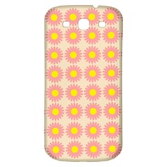 Pattern Flower Background Wallpaper Samsung Galaxy S3 S Iii Classic Hardshell Back Case