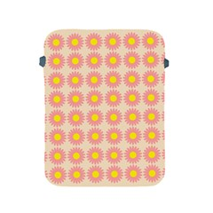 Pattern Flower Background Wallpaper Apple Ipad 2/3/4 Protective Soft Cases