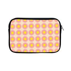 Pattern Flower Background Wallpaper Apple iPad Mini Zipper Cases