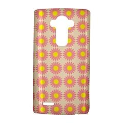 Pattern Flower Background Wallpaper Lg G4 Hardshell Case