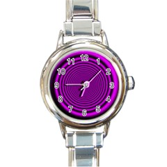 Background Coloring Circle Colors Round Italian Charm Watch