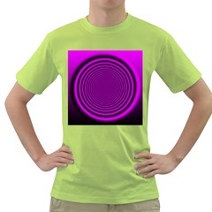 Background Coloring Circle Colors Green T-Shirt