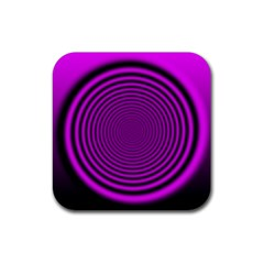 Background Coloring Circle Colors Rubber Square Coaster (4 Pack)
