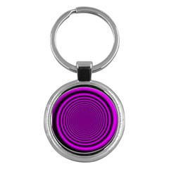 Background Coloring Circle Colors Key Chains (Round)