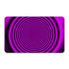 Background Coloring Circle Colors Magnet (rectangular)