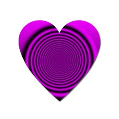 Background Coloring Circle Colors Heart Magnet