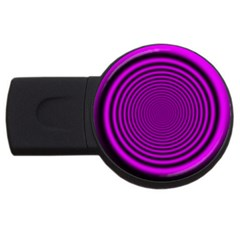 Background Coloring Circle Colors USB Flash Drive Round (1 GB)