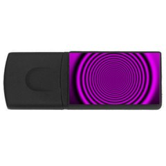 Background Coloring Circle Colors USB Flash Drive Rectangular (1 GB)