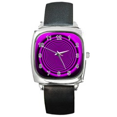 Background Coloring Circle Colors Square Metal Watch