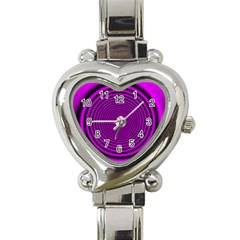 Background Coloring Circle Colors Heart Italian Charm Watch