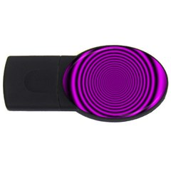 Background Coloring Circle Colors Usb Flash Drive Oval (4 Gb)
