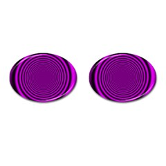 Background Coloring Circle Colors Cufflinks (oval)