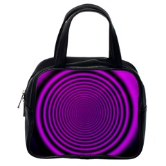 Background Coloring Circle Colors Classic Handbags (one Side)