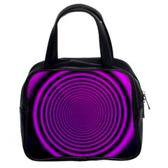 Background Coloring Circle Colors Classic Handbags (2 Sides)