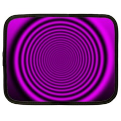 Background Coloring Circle Colors Netbook Case (xxl)