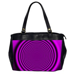 Background Coloring Circle Colors Office Handbags (2 Sides)