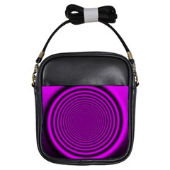Background Coloring Circle Colors Girls Sling Bags