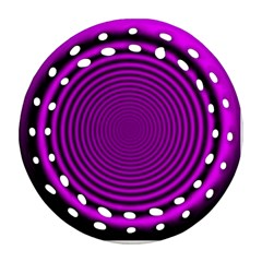 Background Coloring Circle Colors Ornament (round Filigree)