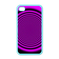 Background Coloring Circle Colors Apple iPhone 4 Case (Color)