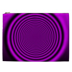 Background Coloring Circle Colors Cosmetic Bag (xxl)