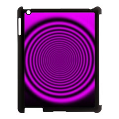 Background Coloring Circle Colors Apple Ipad 3/4 Case (black)