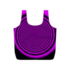 Background Coloring Circle Colors Full Print Recycle Bags (s)