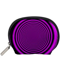 Background Coloring Circle Colors Accessory Pouches (small)
