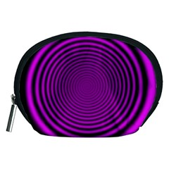 Background Coloring Circle Colors Accessory Pouches (Medium)