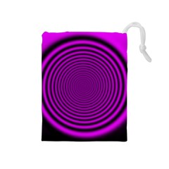Background Coloring Circle Colors Drawstring Pouches (Medium)