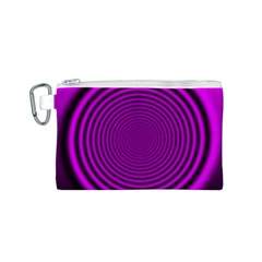 Background Coloring Circle Colors Canvas Cosmetic Bag (s)