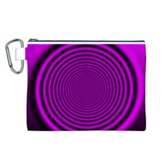 Background Coloring Circle Colors Canvas Cosmetic Bag (l)