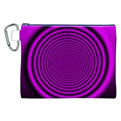 Background Coloring Circle Colors Canvas Cosmetic Bag (xxl)
