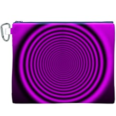 Background Coloring Circle Colors Canvas Cosmetic Bag (XXXL)