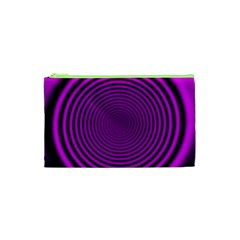 Background Coloring Circle Colors Cosmetic Bag (xs)