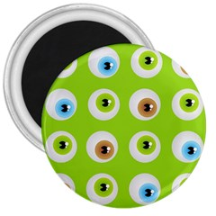 Eyes Background Structure Endless 3  Magnets