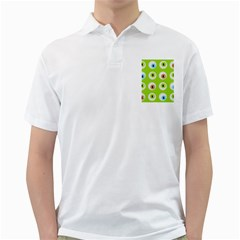 Eyes Background Structure Endless Golf Shirts