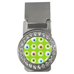 Eyes Background Structure Endless Money Clips (cz)