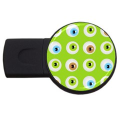 Eyes Background Structure Endless Usb Flash Drive Round (2 Gb)